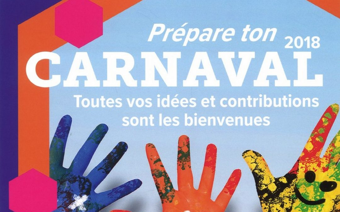 Envie de participer au Carnaval de printemps de Longvic  ?