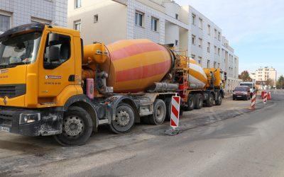 Et les travaux de la Route de Dijon ?
